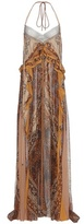 Chloé Silk Halterneck Dress