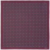 Gucci Geometric print silk pocket square