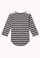 Forever 21 girls Sweet Lace Striped Top (Kids)