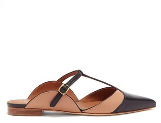 Malone Souliers Imogen T-bar Leather Mules - Black