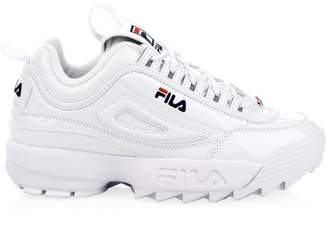 Fila Disruptor II Premium Patent Leather Sneakers