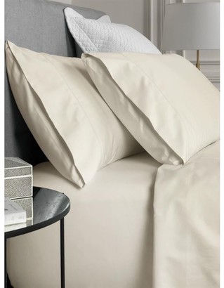 Sheridan Hotel-Weight Luxury Chalk King Flat Sheet