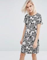 Sugarhill Boutique Lara Zebra Print Tunic Dress