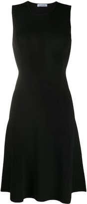 P.A.R.O.S.H. fitted flared dress