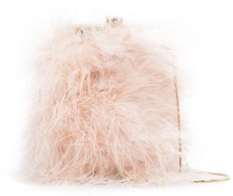 Rosantica Feathered Crossbody Bag