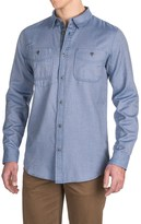 Gramicci Twill Flannel Shirt - Long Sleeve (For Men)