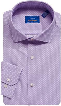 Perry Ellis Slim-Fit Premium Tech Dress Shirt