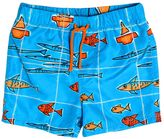 Dolce & Gabbana Fish Printed Nylon Swimming Shorts