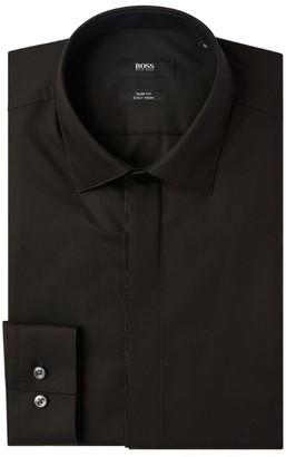 HUGO BOSS Glitter-Placket Shirt
