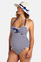 Pez D'or Women's One-Piece Maternity Swimsuit