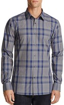HUGO Plaid Slim Fit Button-Down Shirt