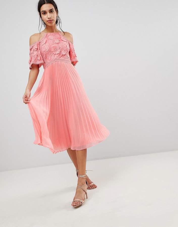 3cc871435d9 Pink Pleated Skirt Dresses - ShopStyle