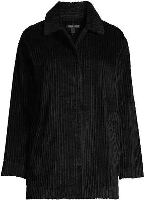 Eileen Fisher Organic Cotton Corduroy Jacket