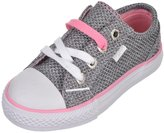 "Baby Phat Girls' ""Woven Metallic"" Low-Top Sneakers"