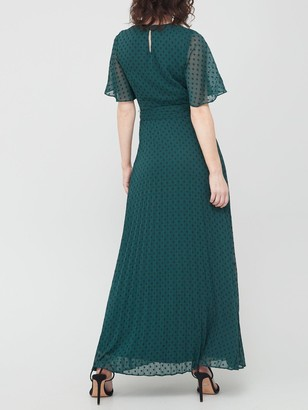 Very Pleated Midi Dress