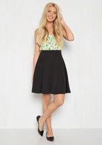 En Pointe Accompanist A-Line Skirt in Black in M