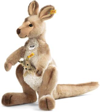 Steiff Kango Kangaroo & Baby Stuffed Animal