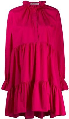 Philosophy di Lorenzo Serafini pleated shift dress