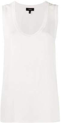 Theory Scoop Neck Tank Top