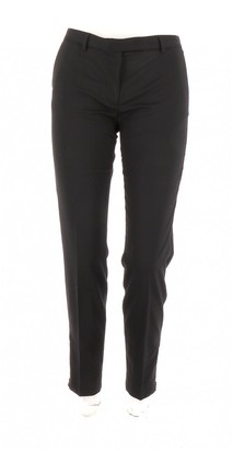 Pablo Black Wool Trousers for Women