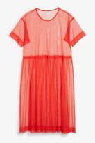 Monki Mesh dress