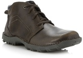 Caterpillar Dark Tan Leather Boots