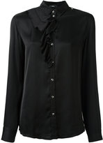 Diesel ruffle detail shirt - women - Viscose - S