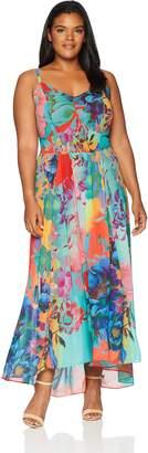 City Chic Women's Apparel Women's Plus Size Maxi HOT Summer Days