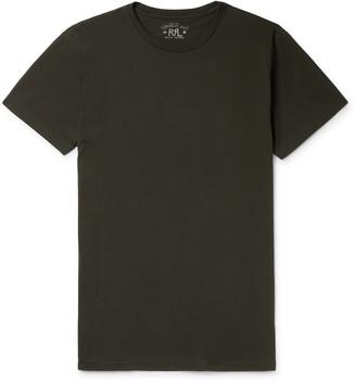 Ralph Lauren RRL Logo-Embroidered Cotton-Jersey T-Shirt