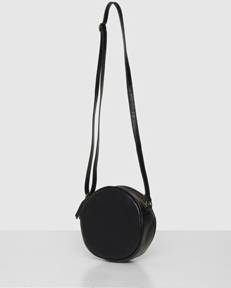 Bee Women's Black Leather bags - The Daisy Crossbody Bag - Size One Size at The Iconic