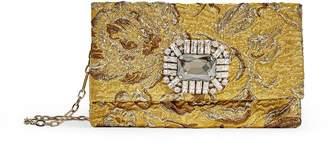 Jimmy Choo Titania Brocade Clutch Bag