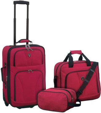 Traveler's Club Travelers Club Softside Expandable Value Luggage Set - Bowman