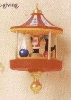 Hallmark Santa's Little Big Top Miniature 1st in Series 1995 Ornament QXM4779