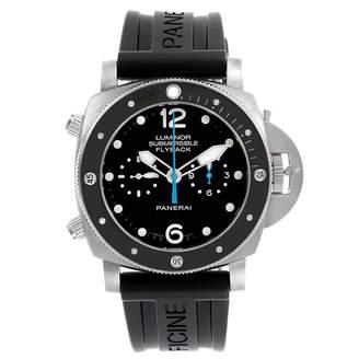 Panerai Black Luminor Submersible PAM00615 Men's Wristwatch 47MM