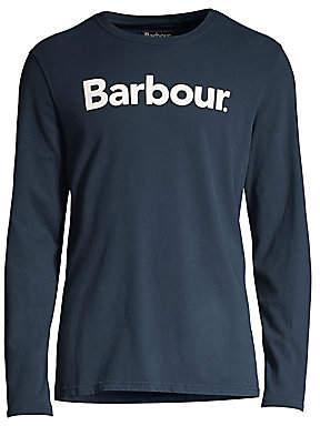 Barbour Men's Long-Sleeve Logo Tee