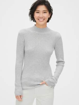 Gap True Soft Ribbed Mockneck Sweater
