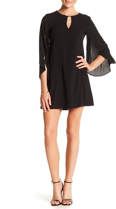 Kensie Split Sleeve Keyhole Sheath Dress