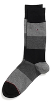 Tommy Hilfiger Colorblock Dress Sock