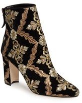 Manolo Blahnik Women's Isola Brocade Bootie