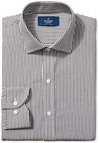 Buttoned Down Men's Slim Fit Spread-Collar Pattern Non-Iron Dress Shirt Without Pocket