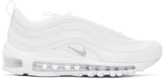 Nike White Air Max 97 Sneakers