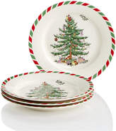 Spode Candy Cane Appetizer Plates, Created for Macy's