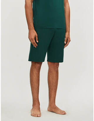 Derek Rose Basel stretch-jersey shorts