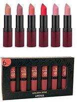 Golden Rose Matte Lipstick Set of 6 (SET1)