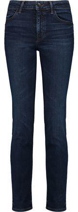Helmut Lang Mid-Rise Slim-Leg Jeans