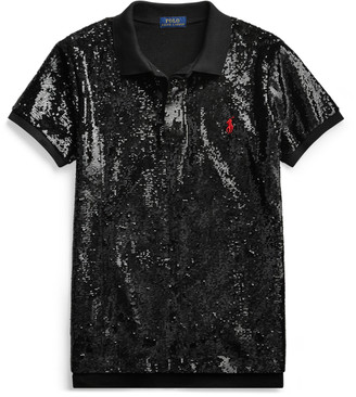 Ralph Lauren Sequined Polo Shirt