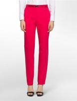 Calvin Klein Essential Skinny Solid Belted Pants