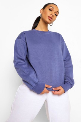 boohoo Basic Crew Neck Oversized Sweat