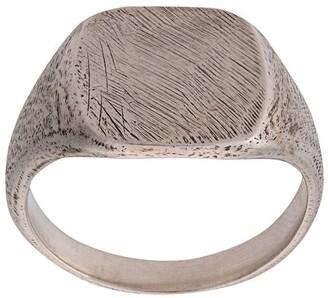 Werkstatt:Munchen Scratched Signet Ring