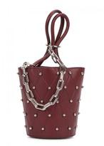 Alexander Wang Roxy Mini Bordeaux Leather Bucket Bag